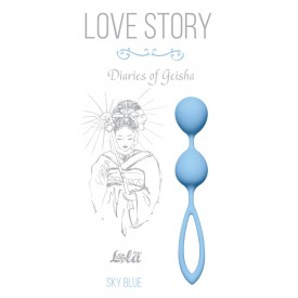 Голубые вагинальные шарики Diaries of a Geisha